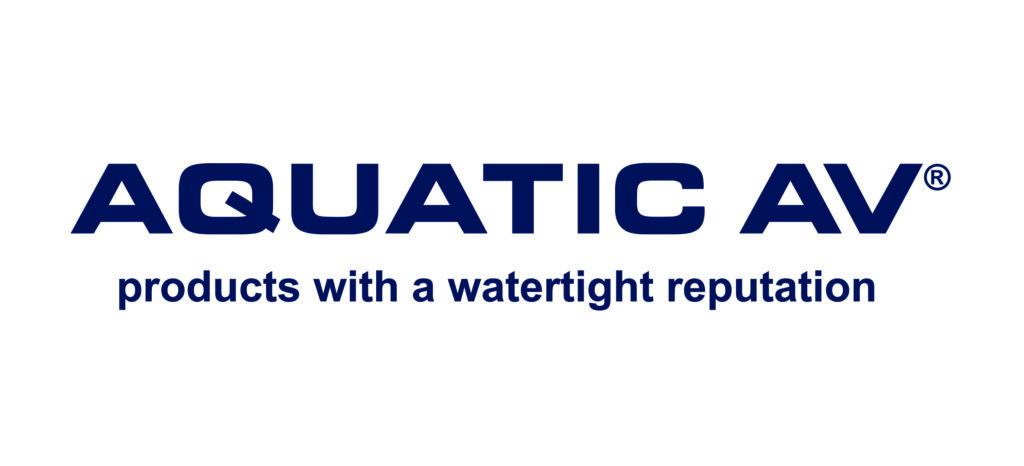 Aquatic AV Logo 2017 - Dark Blue & Tagline